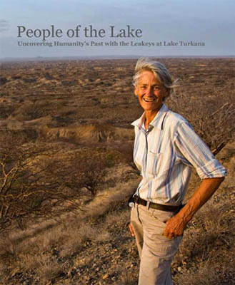 Meave Leakey, Louise Leakey, Richard Leakey, Mary leakey and Louis Leakey at Lake Turkana in Kenya - Mike Hettwer Photos.
