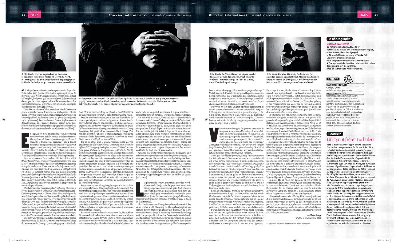 Courrier International 2/2 Jan. 2014