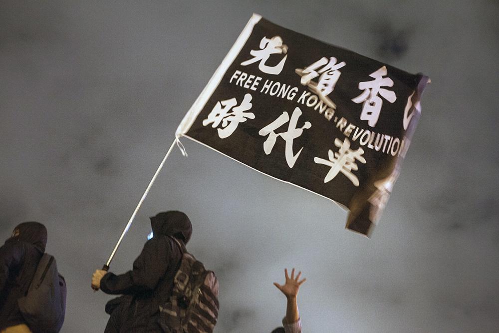 Hongkong, protests , Nov. 2019