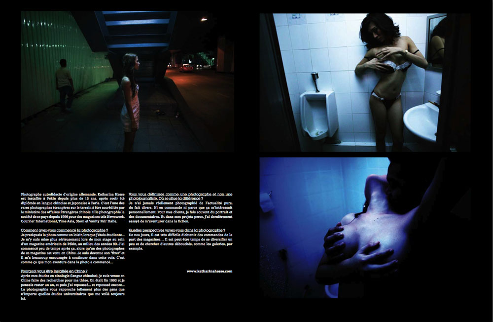 Blackpool magazine ( Paris)2009
