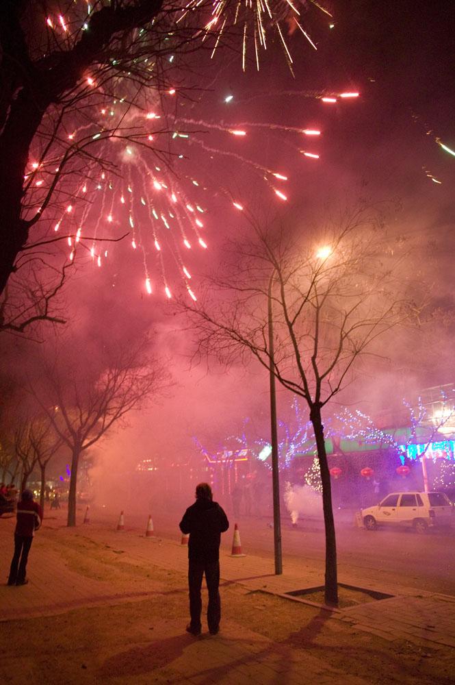 February 2008 :  fireworks