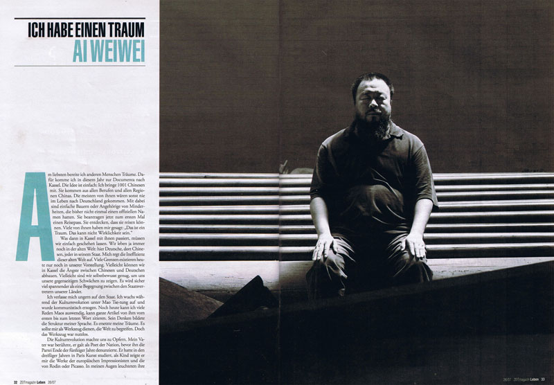 Zeit magazin Leben, June 2007