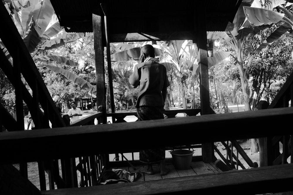 Siem Reap, February - 2008 : schizophrenic patient