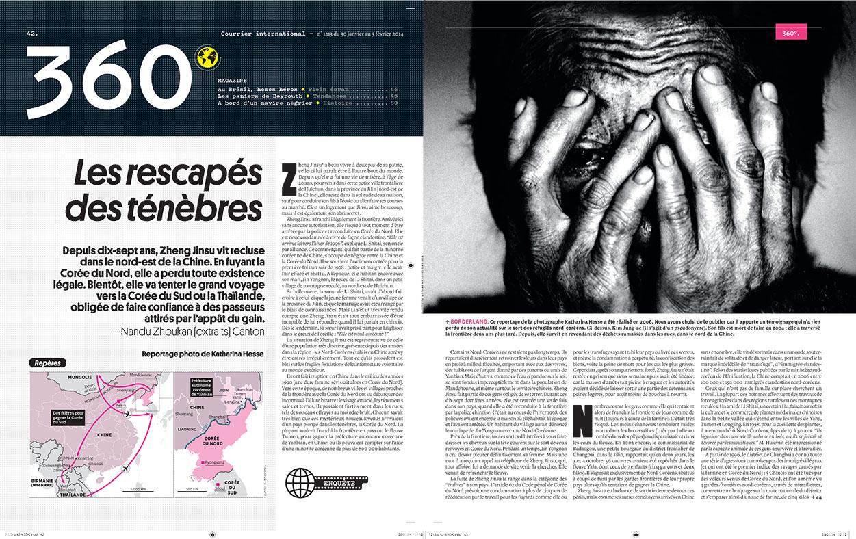 Courrier International 1/2, Jan. 2014