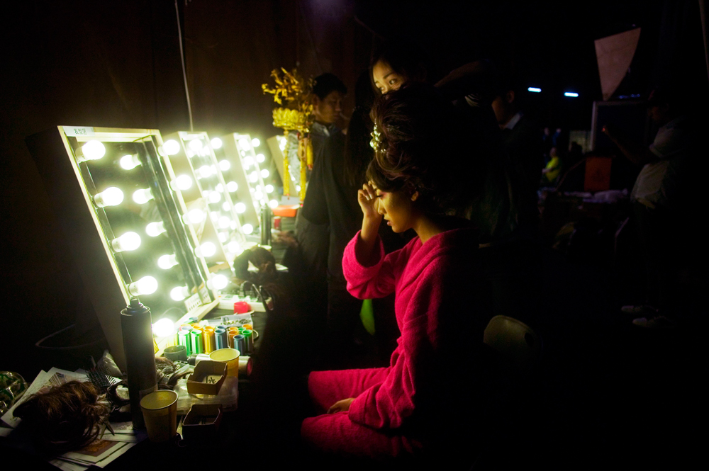 Beijing 2012 : Guo-Pei, backstage