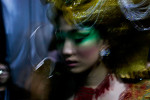 Beijing, May 2012, Guo Pei back stage