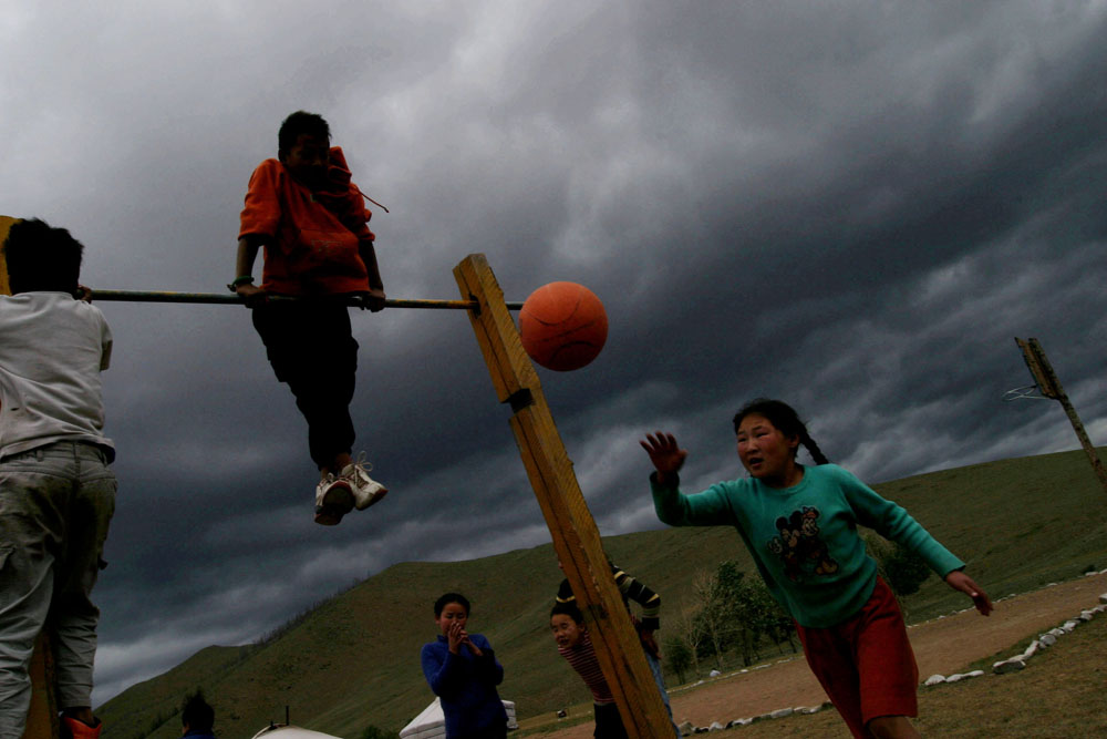 Mongolia, 2005 :  summer camp for street kids