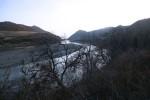the Yalu river in Northern China