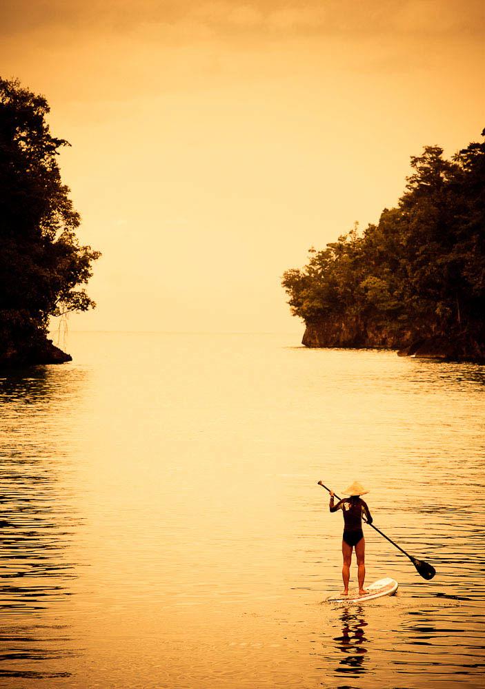 Paddle boardingIndonesia