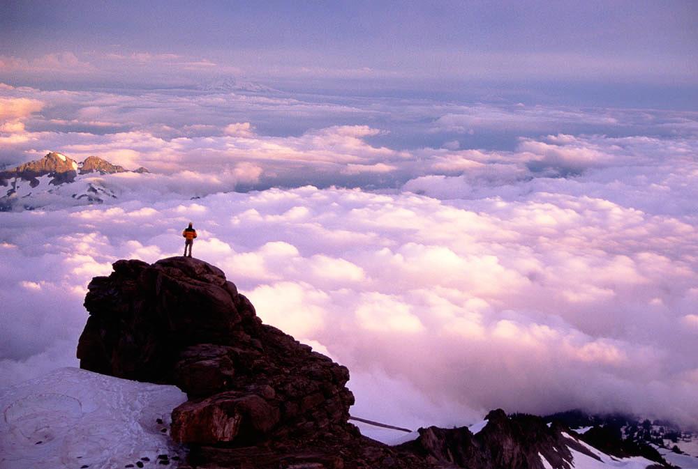 Mountain climbing - Washington