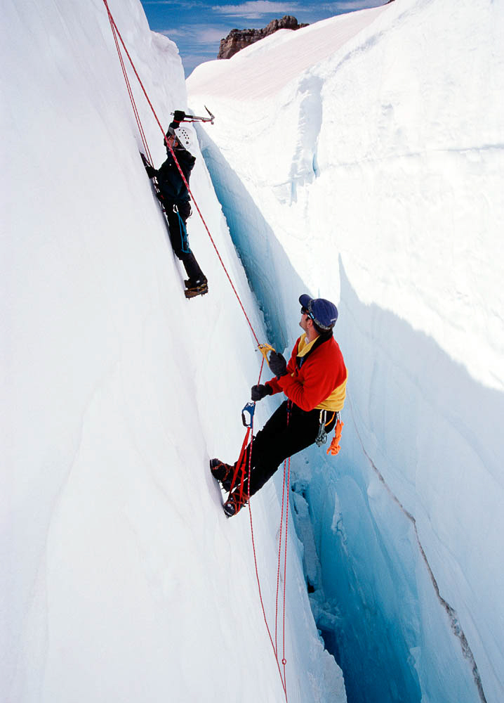 Ice ClimbingWashington
