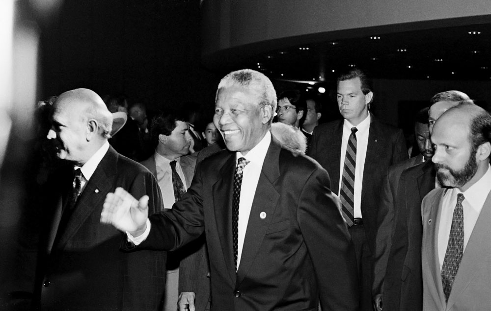 Former Presidents of South AfricaPhiladelphia, PennsylvaniaJuly 4, 1993