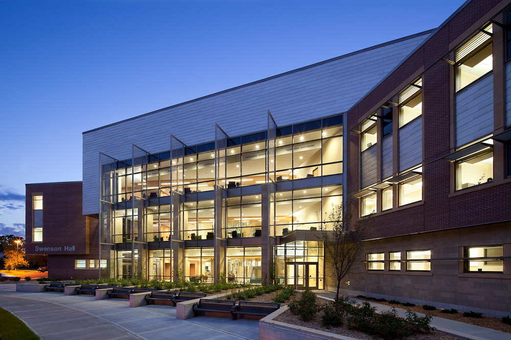 Swenson Hall, University of Wisconsin - Superior, Wisconsin