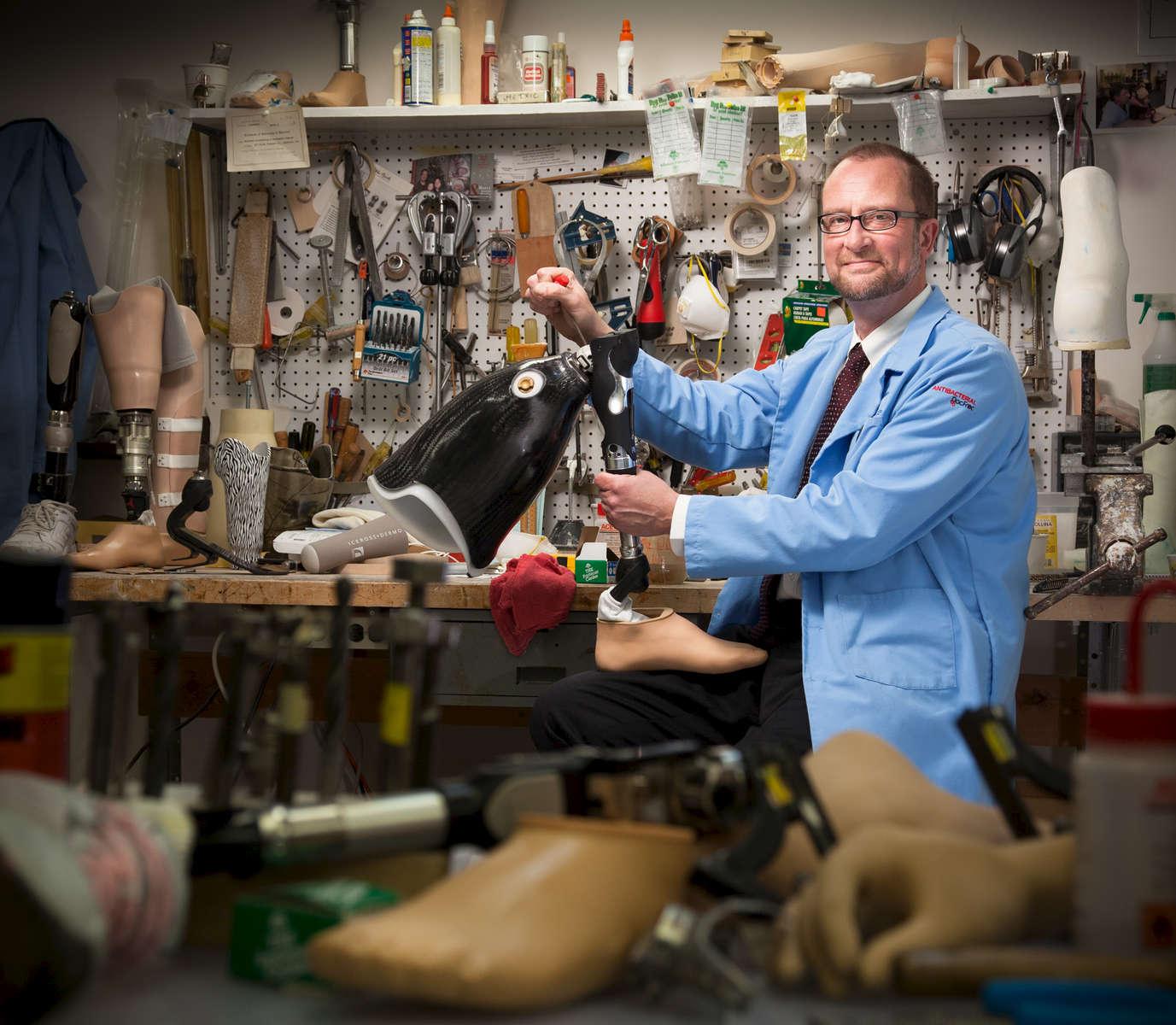 Erich Shulze - Certified Prosthetist Orthotist, Certified Pedorthist