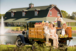 Owners of Orchard Ridge Farms wedding venue.