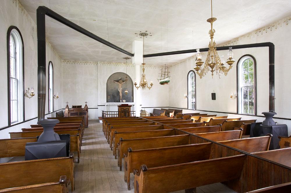 St. Peter's Evangelical Danish Lutheran Church - Sheffield, Illinois