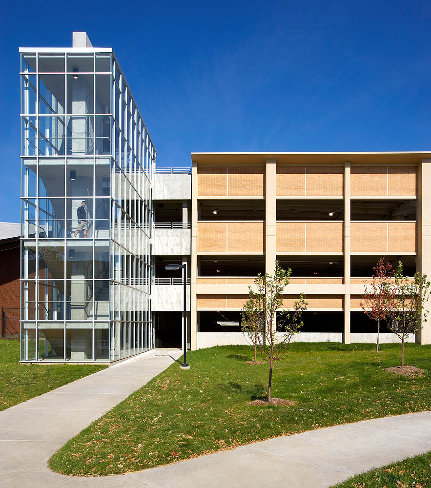 Lot 76 Parking Ramp, University of Wisconsin - Madison, Wisconsin