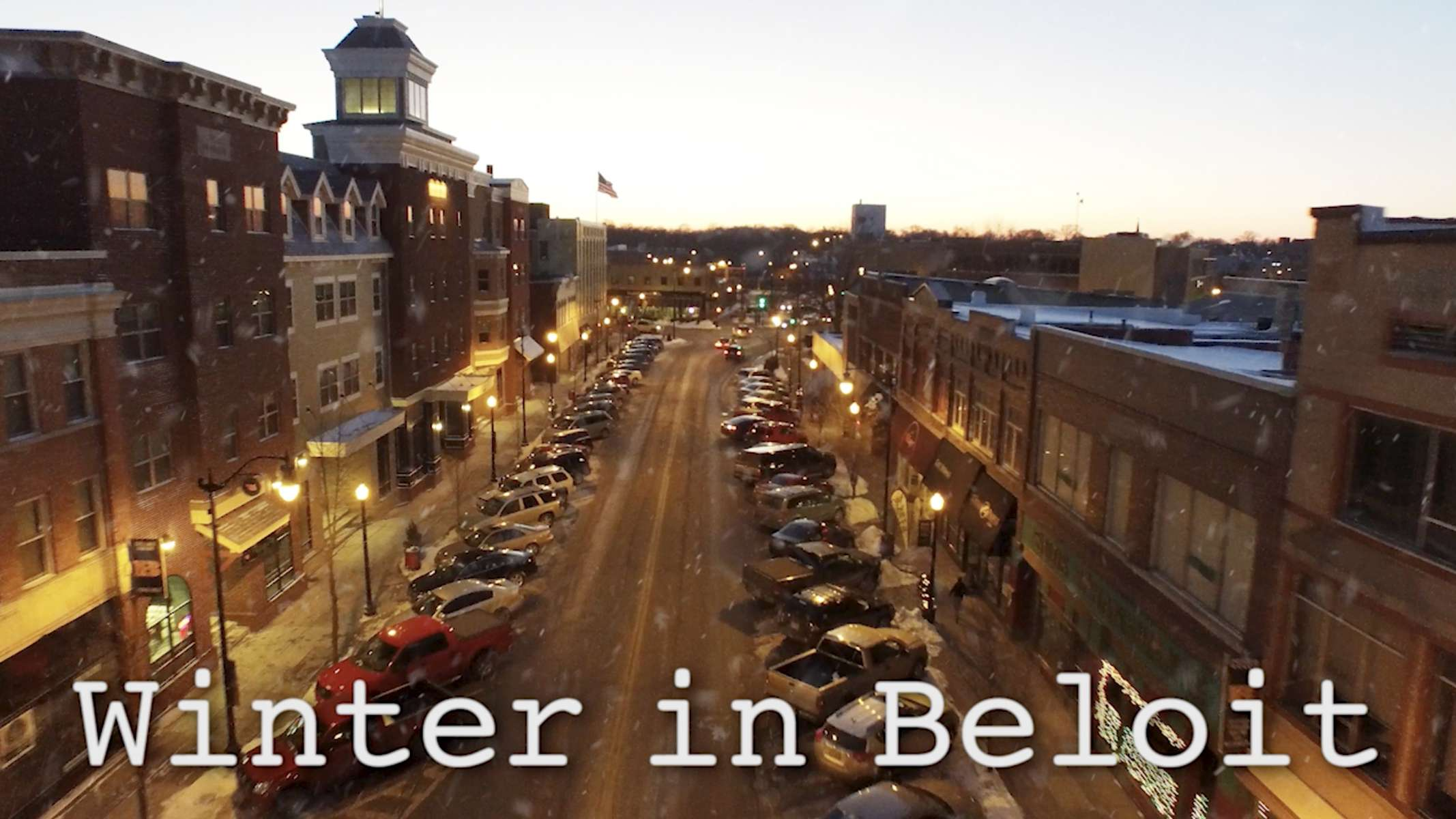 Winter in Beloit, Wisconsin
