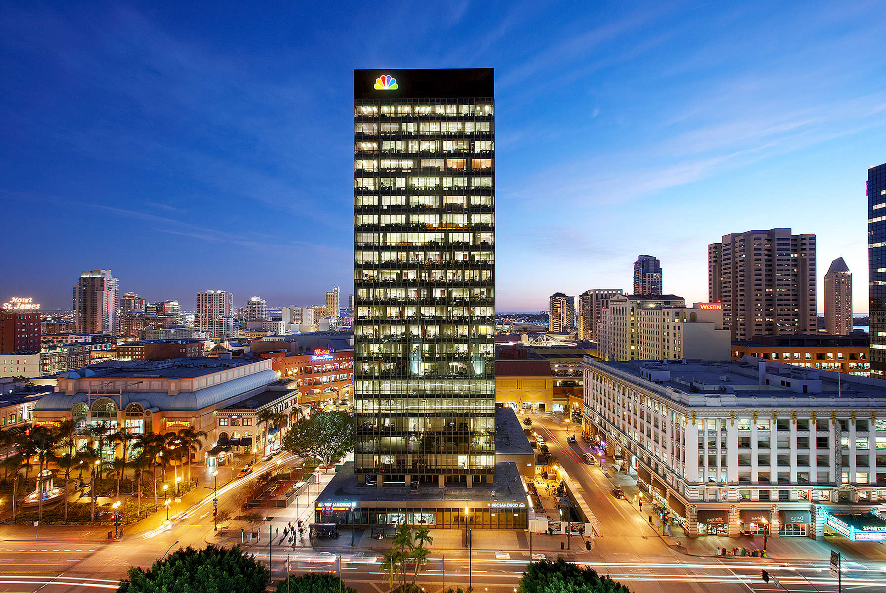 NBC Tower - San Diego, California