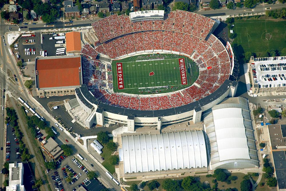 Camp Randall Stadium, University of Wisconsin - Madison, Wisconsin