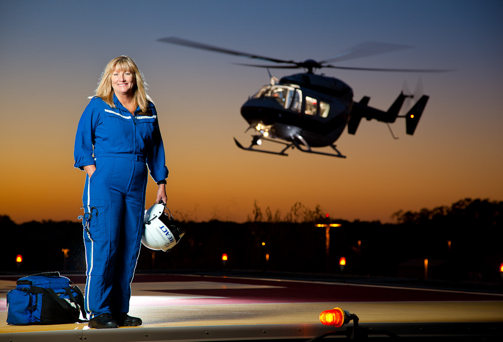 Deb Webb - REACT Flight Nurse