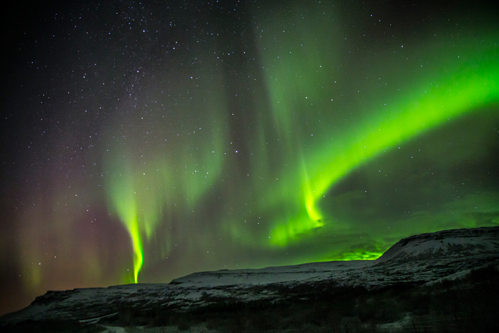 Twin Northern Lights