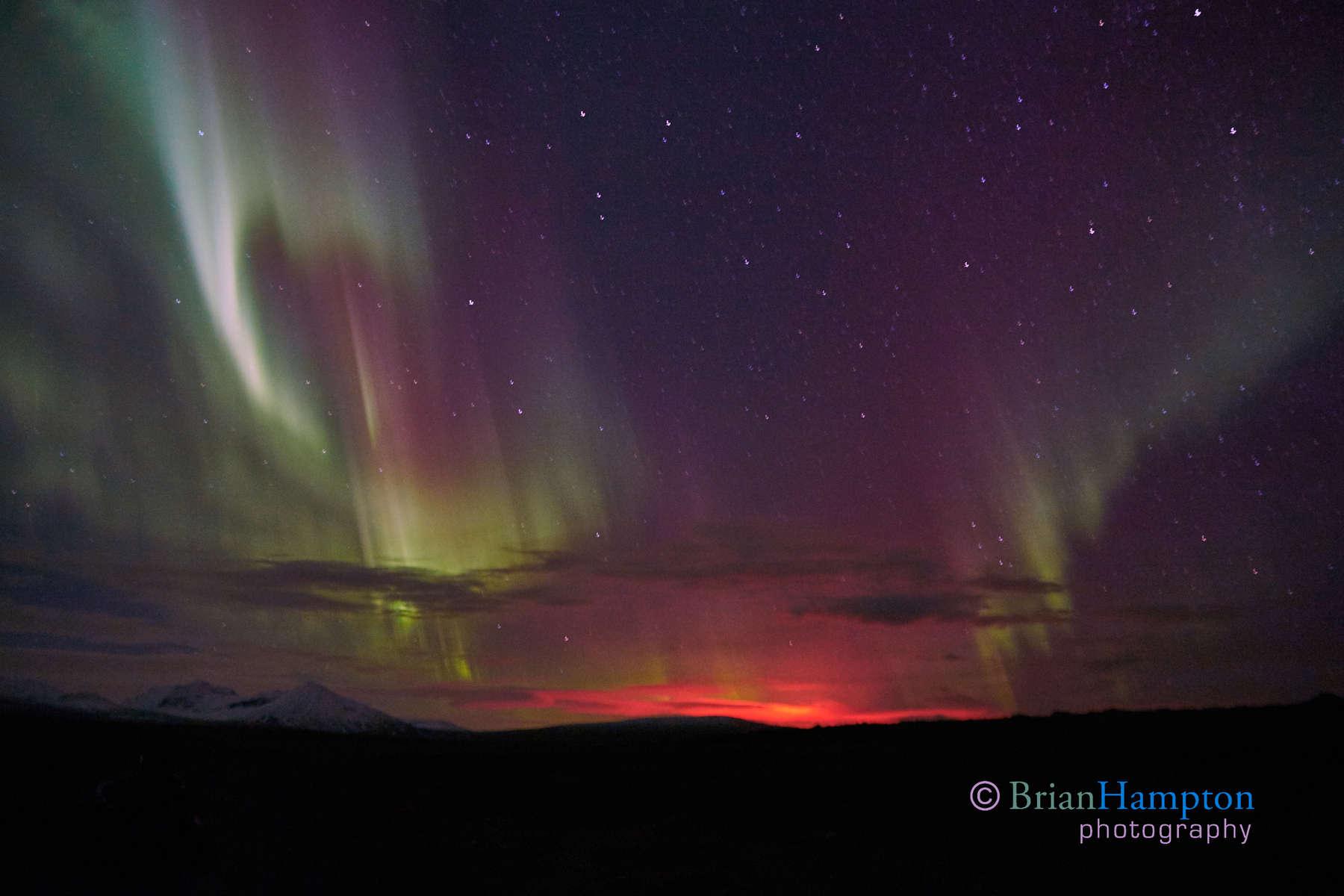Volcano's Glow