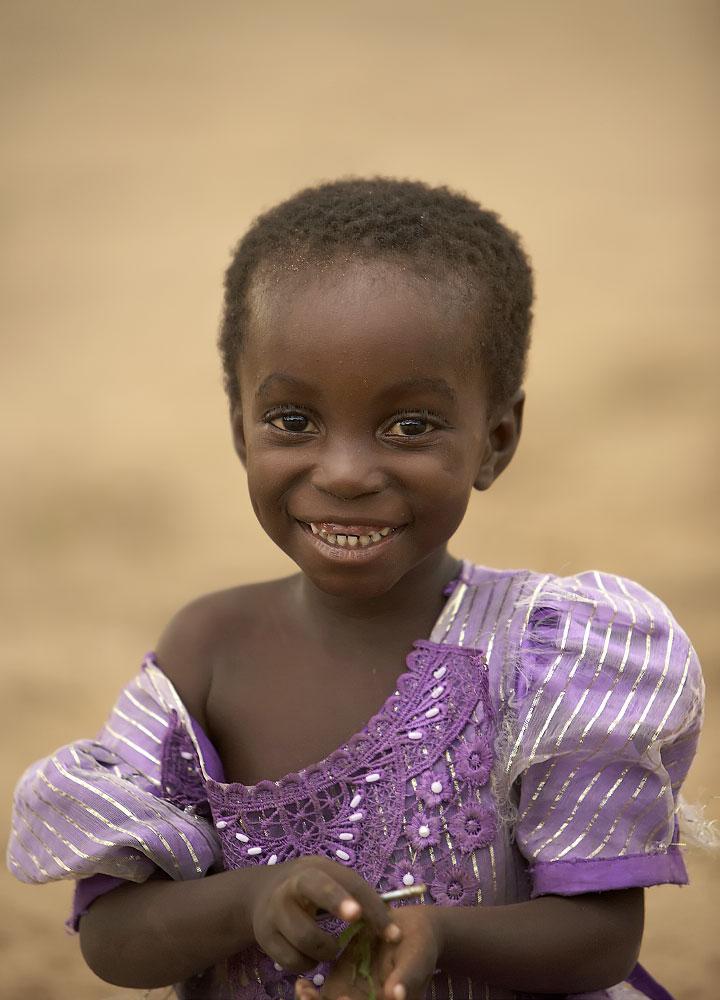 Young Girl at Siankaba