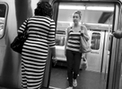 Subway scene - June, 2014