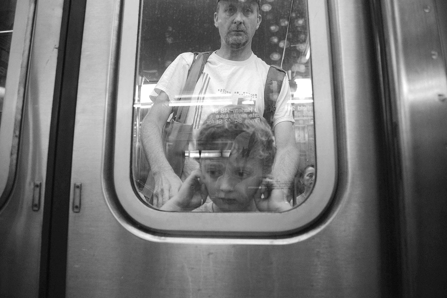 Subway scene - September, 2013