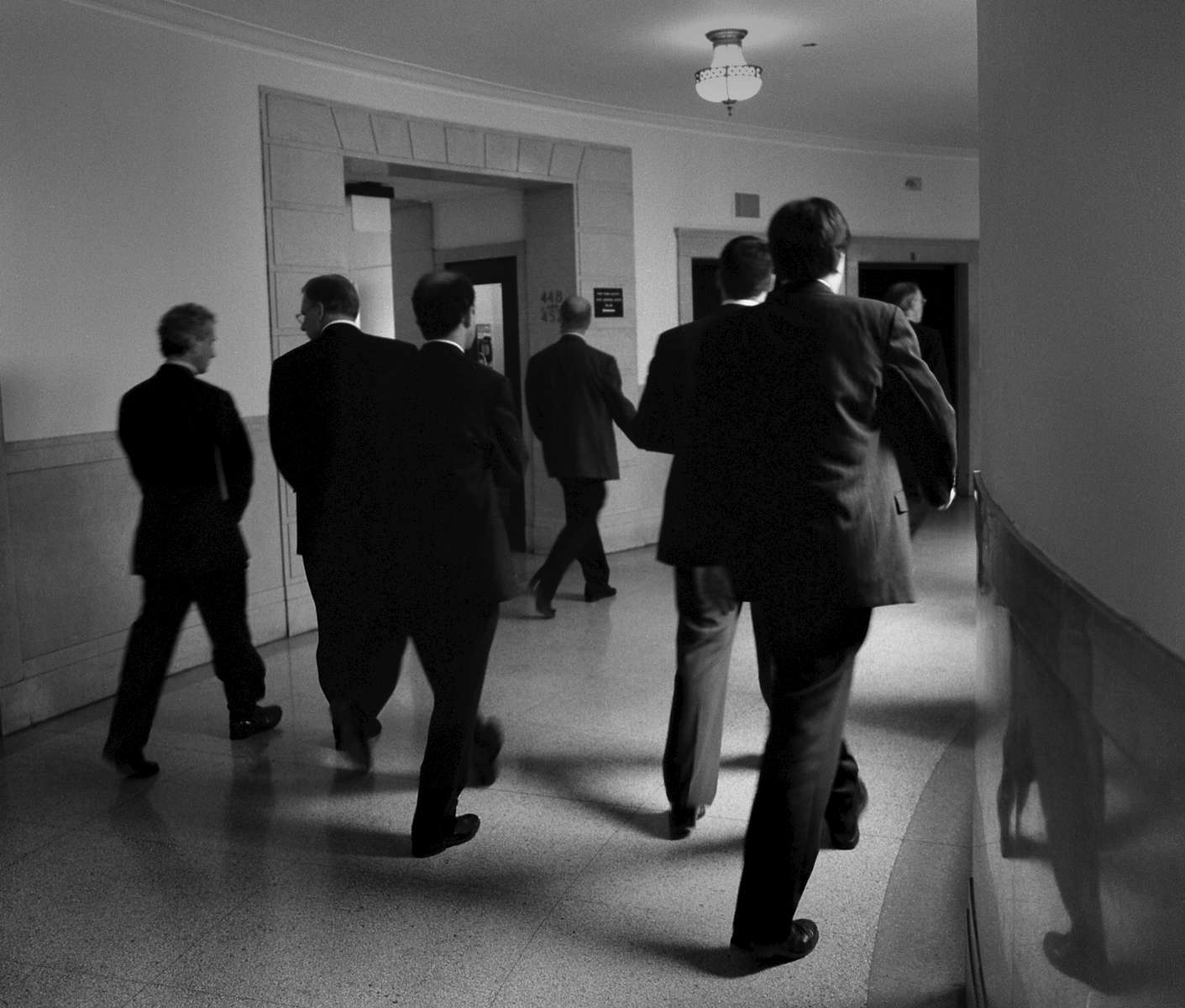 Attorneys Walking, State Supreme Court, 60 Centre Street - June, 2004