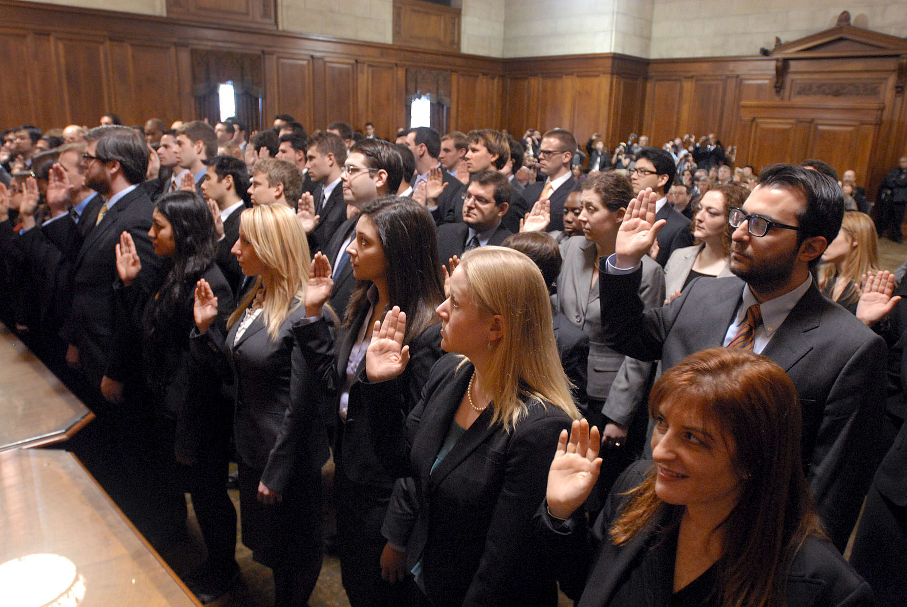 New attorneys being sworn in, Appellate Division, Second Department - January, 2012