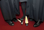 Chief Judge Judith Kaye's shoes - January, 2012