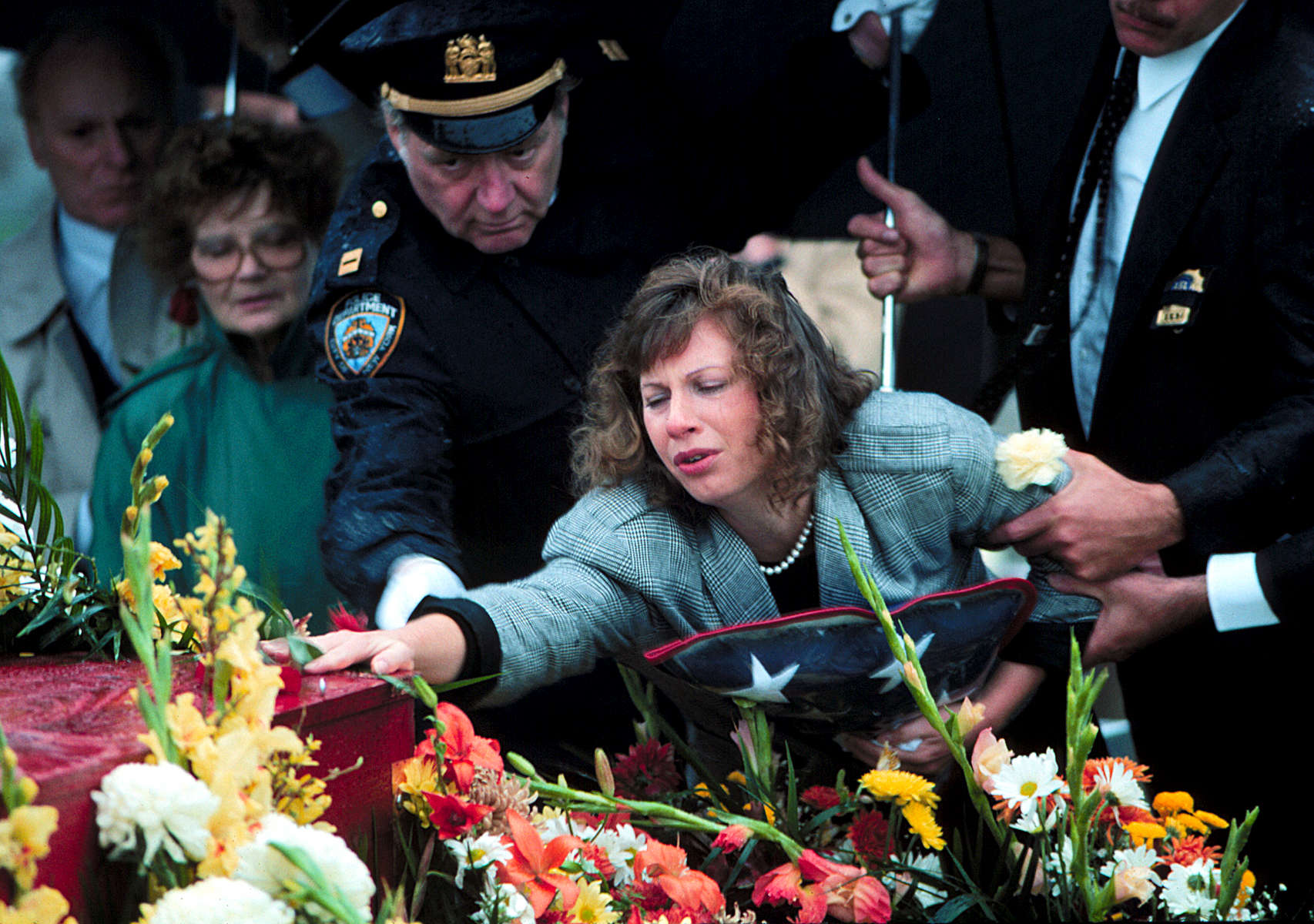 NYC Police Officer funeral – February, 2003