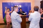 A gay couple was married at the NYC Marriage Bureau after same-sex marriagewas legallyrecognized in New York State - July, 2011