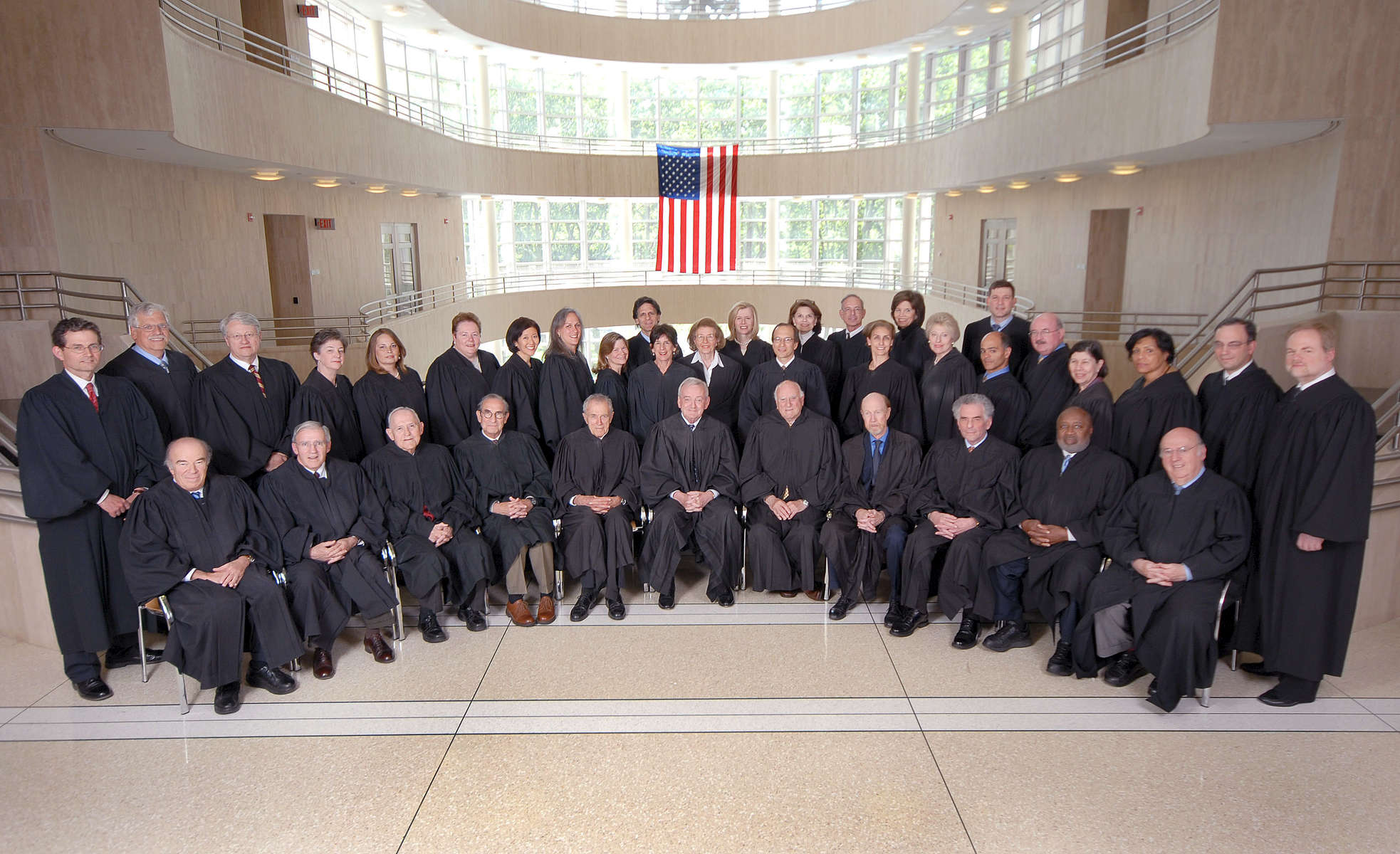 Eastern District Court Judges - May, 2008