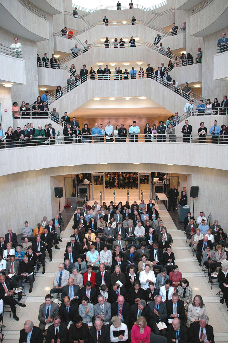 Opening of the new Eastern District Courthouse at 225 Cadman Plaza - June, 2006