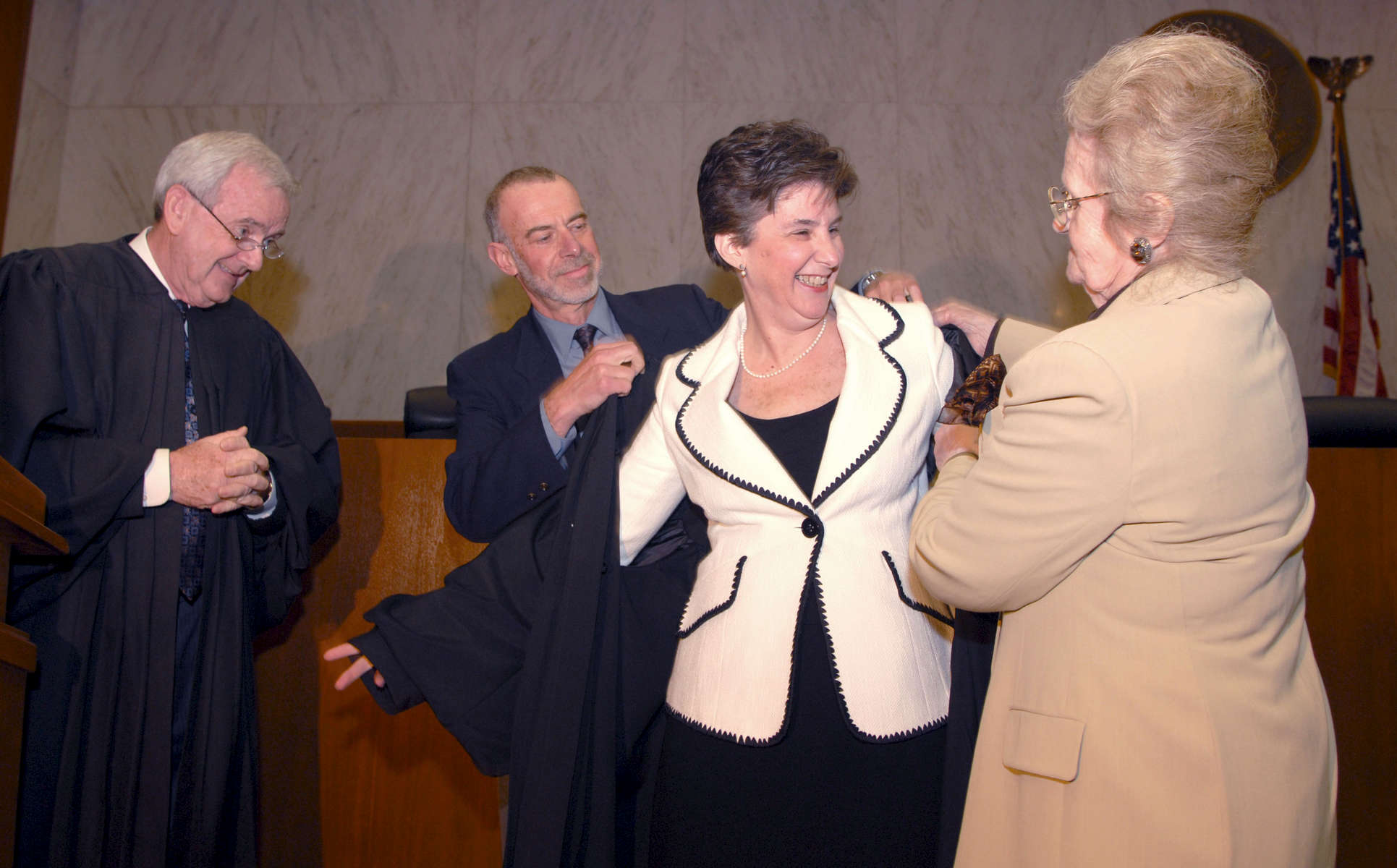 Roslynn Mauskopf is inducted as a judge of the Eastern District of New York – May, 2008
