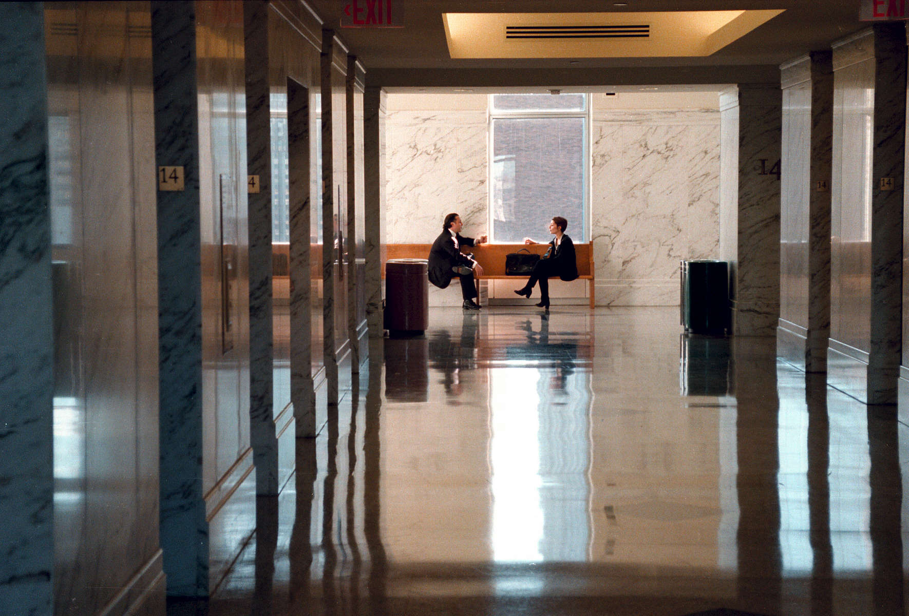 Daniel Patrick Moynihan Courthouse, 14th floor – December, 2004