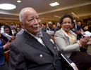 Former NYC Mayor David Dinkins and U.S. Attorney General Loretta Lynch.022615