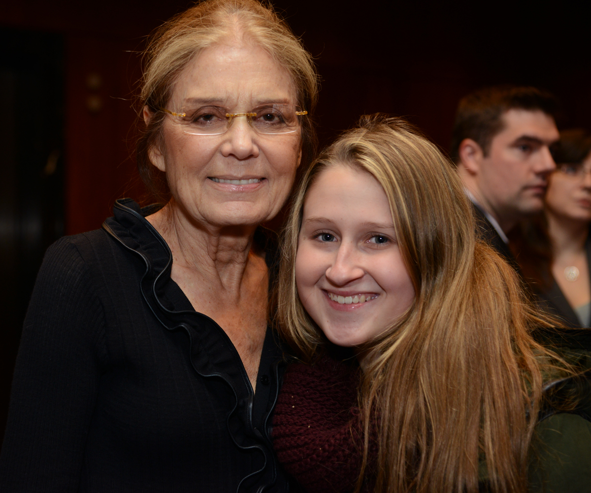 Gloria Steinem and Jeannie Kopstein