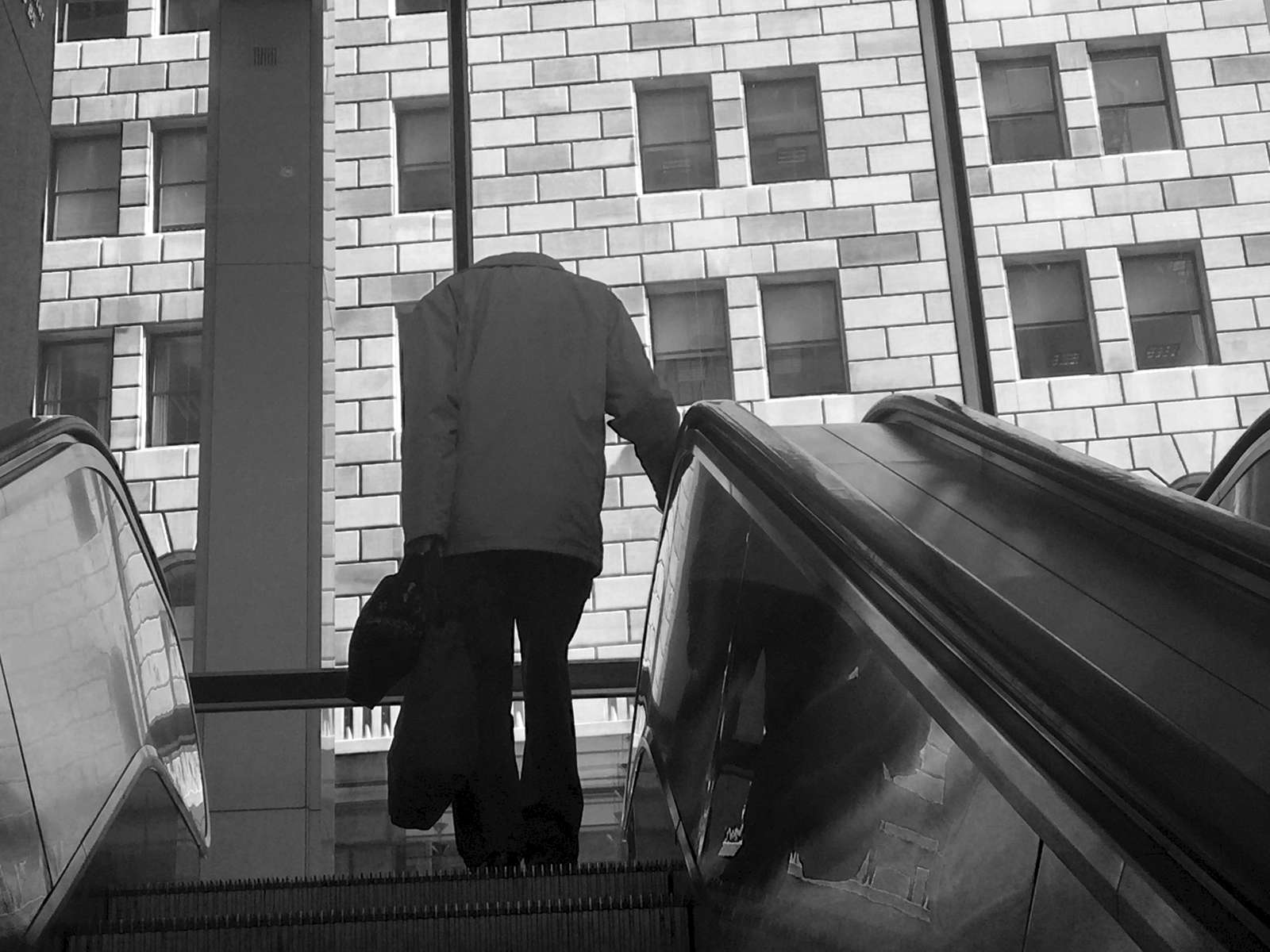 Escalator - NYC