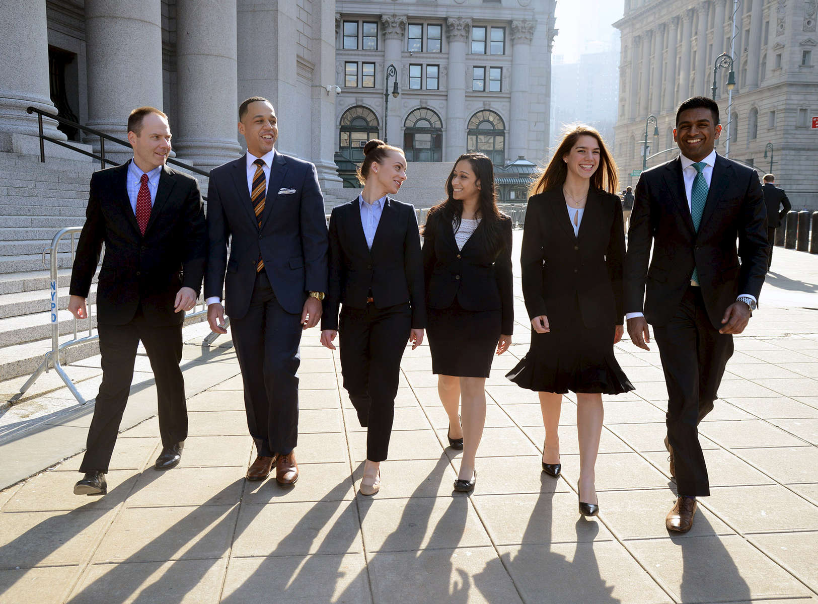 Seton Hall law students - Thurgood Marshall Courthouse, Manhattan