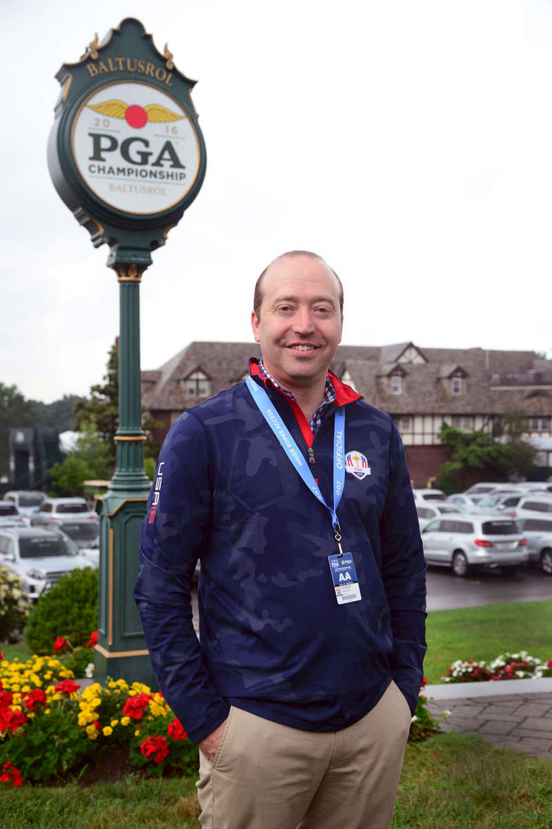 Henry Smokler - General Counsel of the PGA  (Professional Golfers Association} at Baltusrol Golf Club in Springfield, New Jersey, site of the 2016 PGA TournamentSunday August 31, 2016
