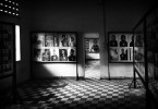 photographs of the prisoners are displayed in the Tuol Sleng S21 prison turned into a Genocide museum.