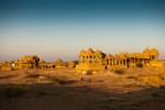 Bada Bagh cenotaphs near Jaisalmer.