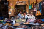 Groceries store downtown Jaisalemer, Rajastan.