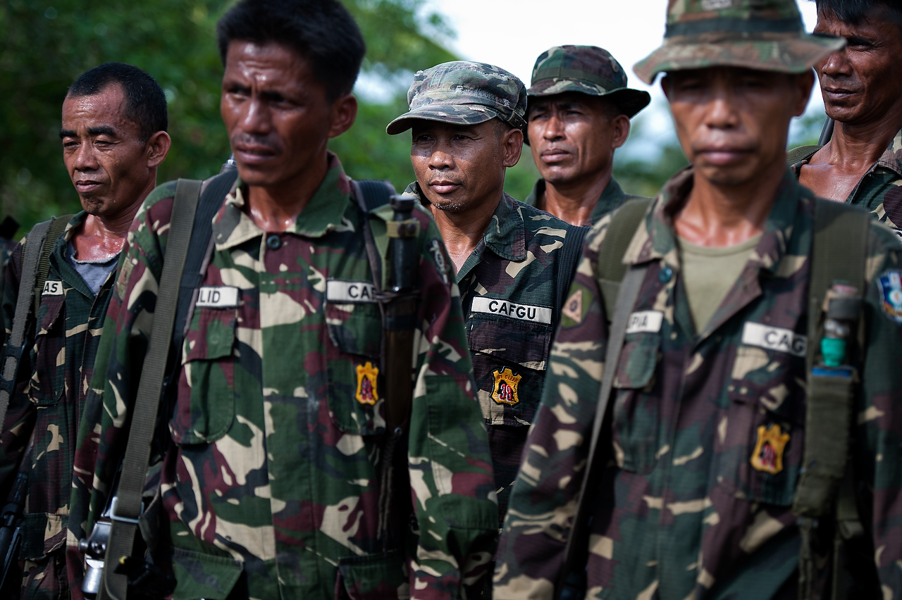 CAFGU paramilitary usually enlist men between 25 and 50 years of age but not limited.