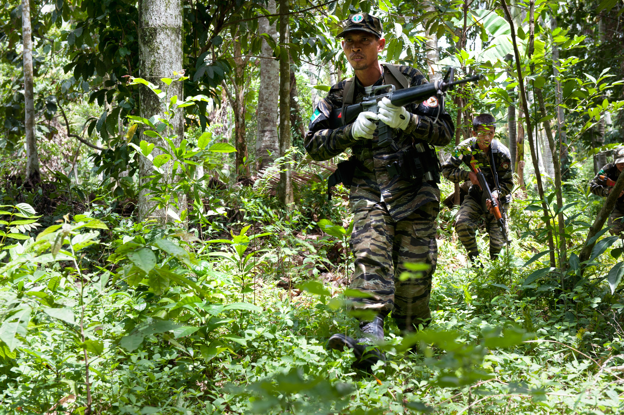 Bangsamoro Islamic Armed Forces (BIAF) rebles.BIAF is the armed force of the Moro Islamic Liberation Front (MILF) and they fight for independent Islamic state.