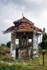 Shreded with bullets a shrine of the virgin Marry at the Muhamalai, the crossing point between LTTE controlled and government controlled area.